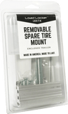Enclosed Trailer - Removable Spare Tire Mount