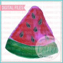 Load image into Gallery viewer, WATERMELON SLICE 2 WATERCOLOR ART