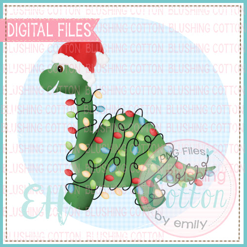 CHRISTMAS LONG NECK DINO - BCEH