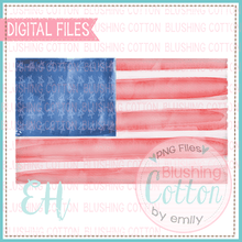 Load image into Gallery viewer, AMERICAN FLAG DESIGN  BCEH