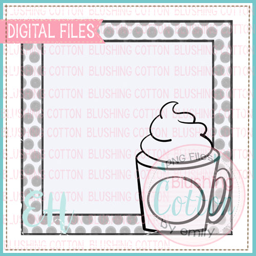 BLACK AND WHITE MUG TAG BCEH