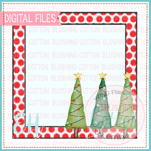 CHRISTMAS TREE TRIO TAG BCEH
