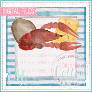 CRAWFISH BOIL IN FRAME DESIGN  BCEH