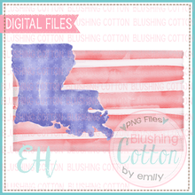Load image into Gallery viewer, LOUISIANA FLAG DESIGN    BCEH