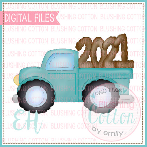 MUDDY 2021 TEAL TRUCK BCEH