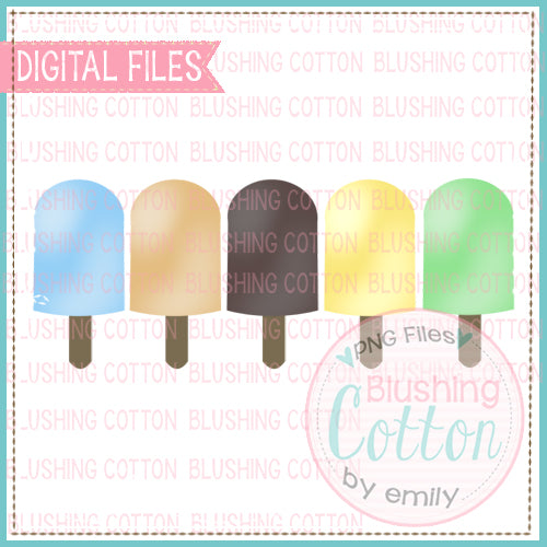 POPSICLE ROW FOR BOYS WATERCOLOR DESIGN  BCEH
