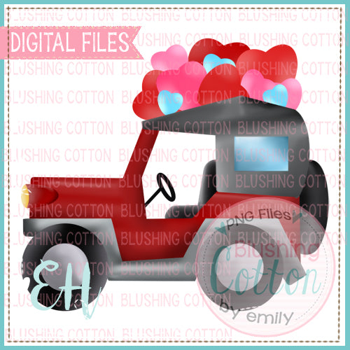 RUGGED TRUCK WITH HEARTS   BCEH