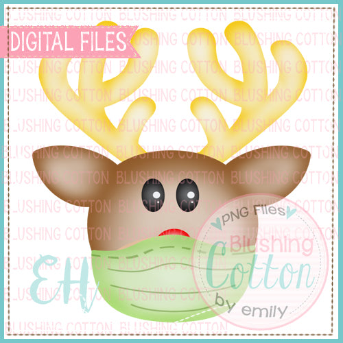SMALL NOSE REINDEER WITH MASK BCEH