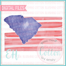 Load image into Gallery viewer, SOUTH CAROLINA FLAG DESIGN   BCEH