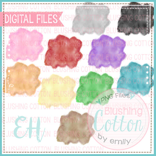 WATERCOLOR SPLASHES BUNDLE   BCEH