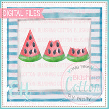 Load image into Gallery viewer, WATERMELON TRIO BITTEN IN FRAME DESIGN   BCEH