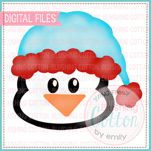 WINTER PENGUIN WATERCOLOR DESIGN BCEH