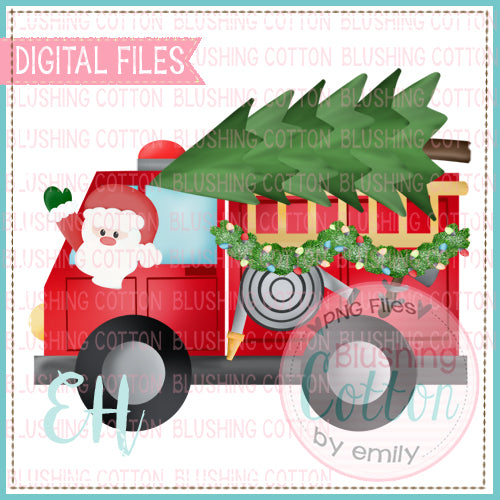 FIRETRUCK WITH SANTA - BCEH