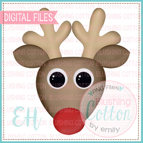 EXCITED RED NOSE REINDEER BOY - BCEH
