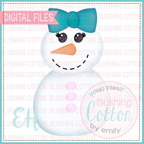 RYLEE SNOWMAN WATERCOLOR DESIGN  BCEH