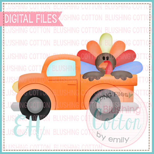 TURKEY TRUCK ORANGE  BCEH