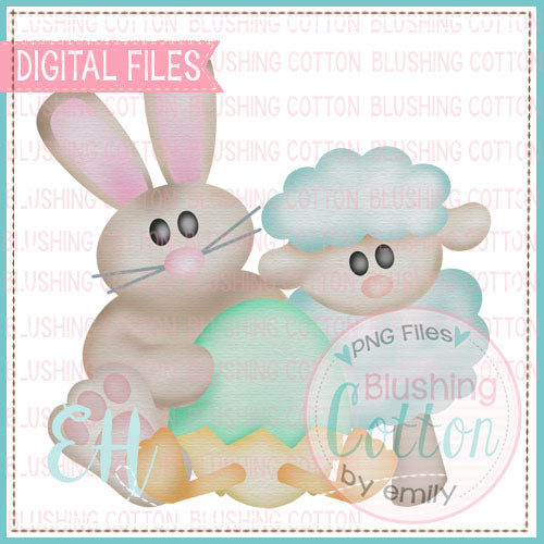 WATERCOLOR EASTER FRIENDS DESIGN   BCEH