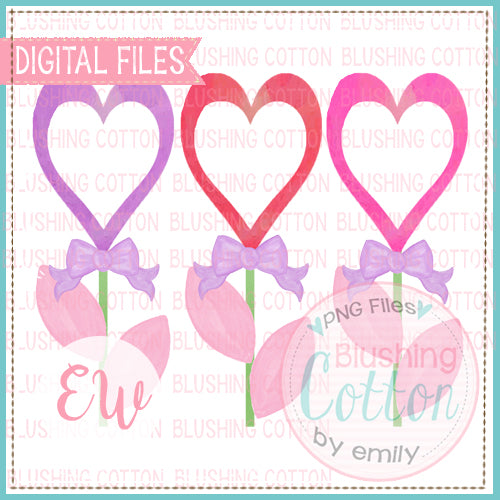 BLOOMING HEARTS WATERCOLOR DESIGN BCEW