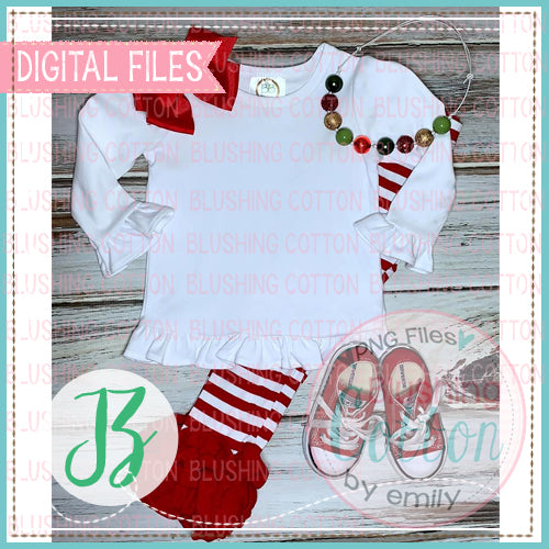 CHRISTMAS GIRL BB BLANK MOCKUP FLAT LAY PHOTO BCJZ