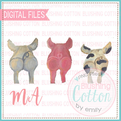 THREE LITTLE PIGS BACKSIDES BCMA