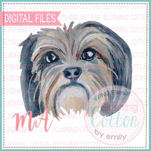 SHIHTZU WATERCOLOR DESIGN BCMA