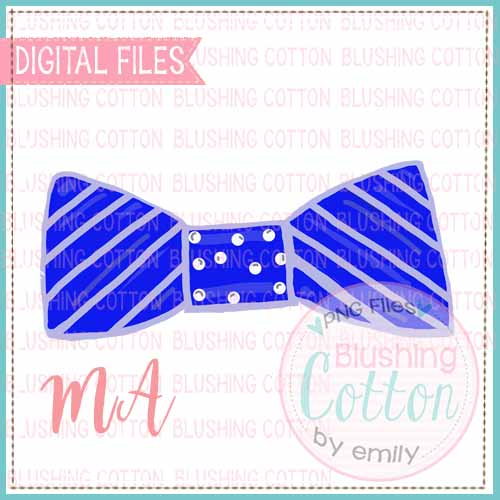 BOW TIE WATERCOLOR DESIGN BCMA