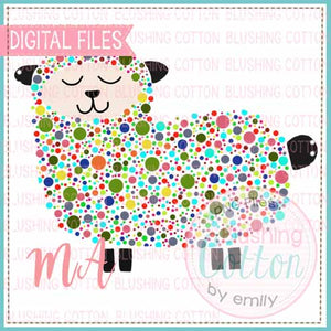 SHEEP WATERCOLOR DESIGN BCMA