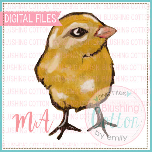 CHICK WATERCOLOR DESIGN BCMA