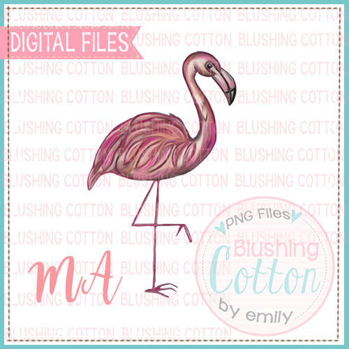 FLAMINGO SINGLE DESIGN   BCMA