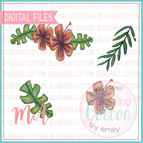 TROPICAL FLOWER DESIGN BUNDLE   BCMA