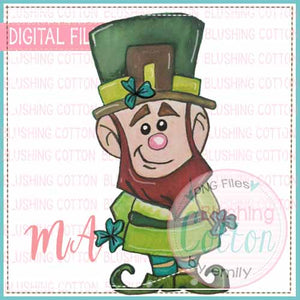 LEPRECHAUN WATERCOLOR DESIGN BCMA