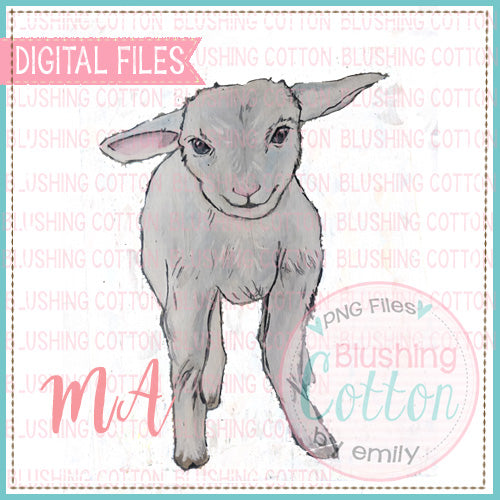 LAMB WATERCOLOR DESIGN BCMA