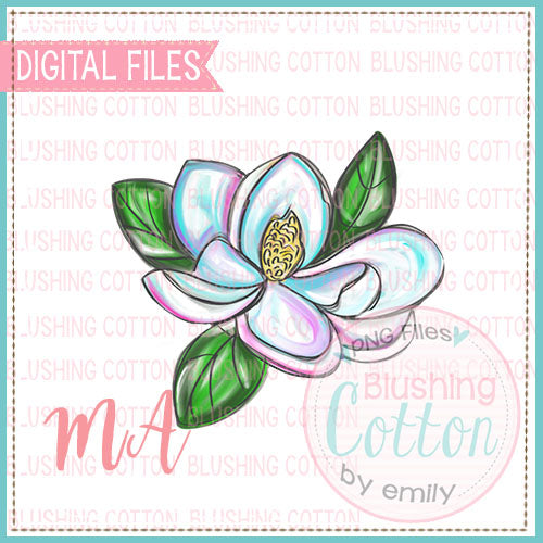 COLORFUL MAGNOLIA DESIGN   BCMA