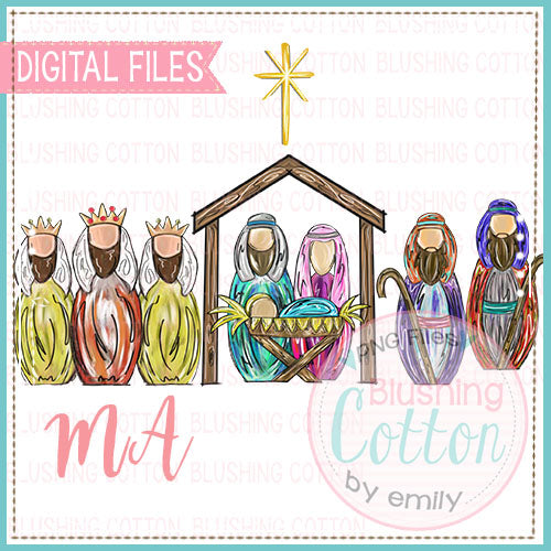 NATIVITY SCENE DESIGN   BCMA