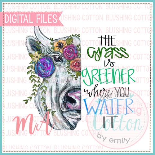 THE GRASS IS GREENER DESIGN   BCMA
