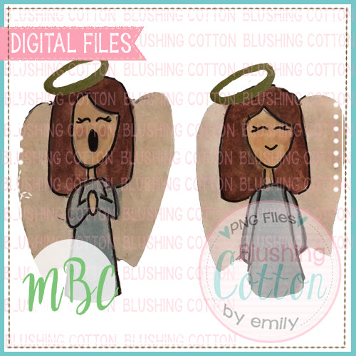 ANGEL GIRL BROWN HAIR DESIGN BCMC