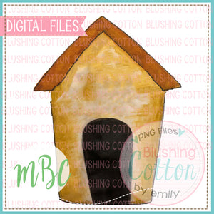 DOG HOUSE WATERCOLOR DESIGN BCMBC