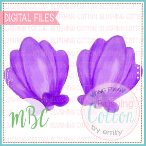 SHELL SHIRT DECORATION WATERCOLOR DESIGN BCMBC