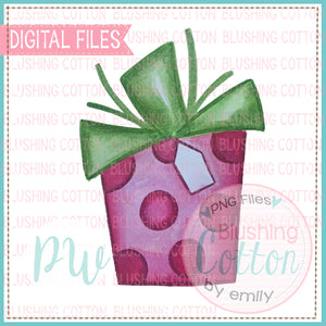 CHRISTMAS GIFT 2 DESIGN WATERCOLOR PNG BCPW