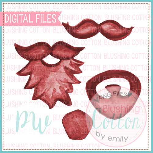 RED FACIAL HAIR BUNDLE    BCPW