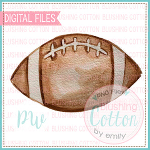 FOOTBALL WATERCOLOR ART PNG