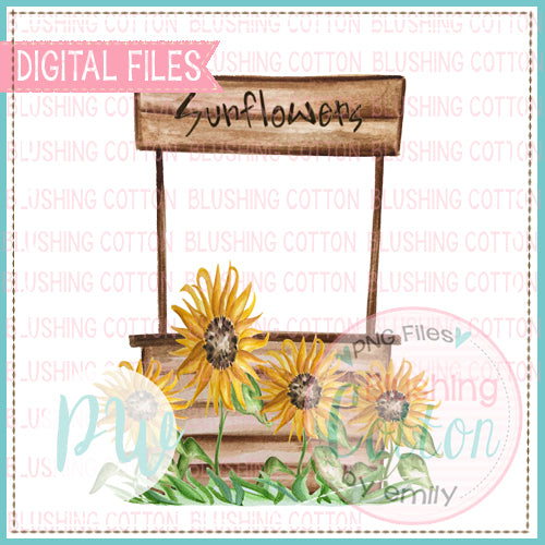 SUNFLOWER STAND BCPW
