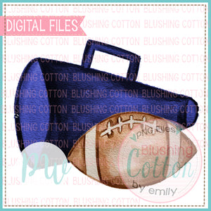 MEGAPHONE NAVY AND FOOTBALL BCPW