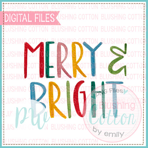 MERRY AND BRIGHT BCPW