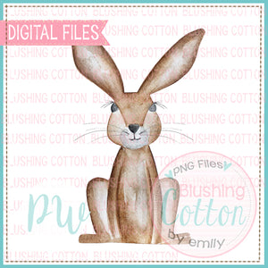 BUNNY BABY NEUTRAL WATERCOLOR DESIGN BCPW