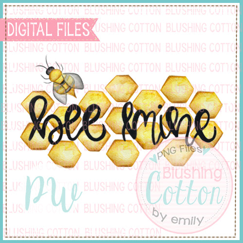 BEE MINE WATERCOLOR DESIGN BCSJ