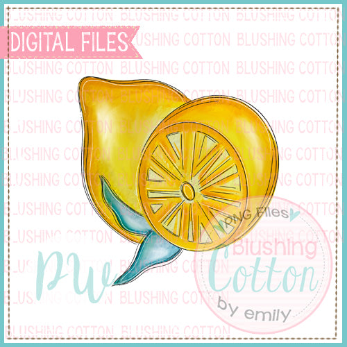 LEMON WATERCOLOR DESIGN BCPW