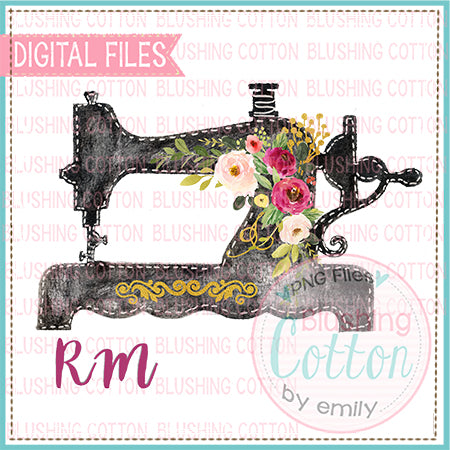 SEWING HAND DRAWN DESIGN BCRM