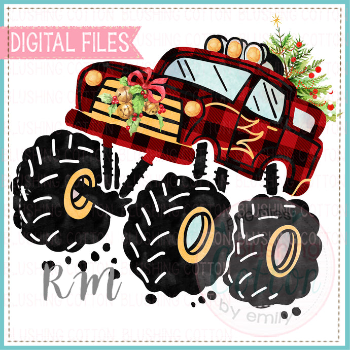 MONSTER TRUCK CHRISTMAS BCRM