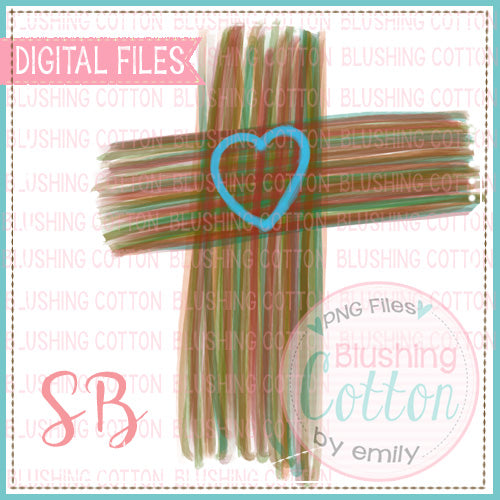 CROSS WITH HEART BCSB